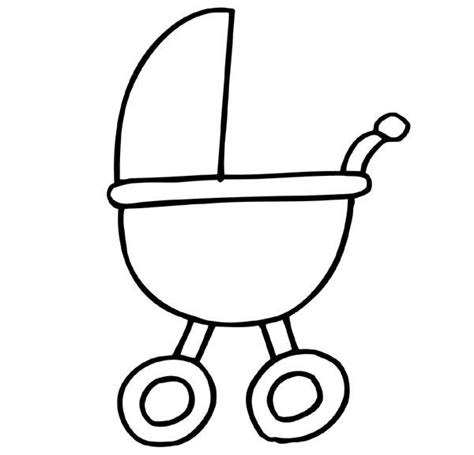 Kleurplaat Baby In Wieg by Tekening Baby Wieg Zoeken Geboorte