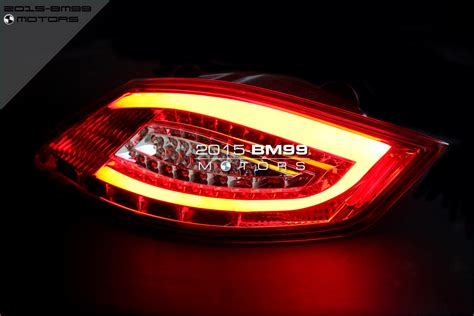 Clear / Red Led Taillights Tail Lights For 05-08 Porsche