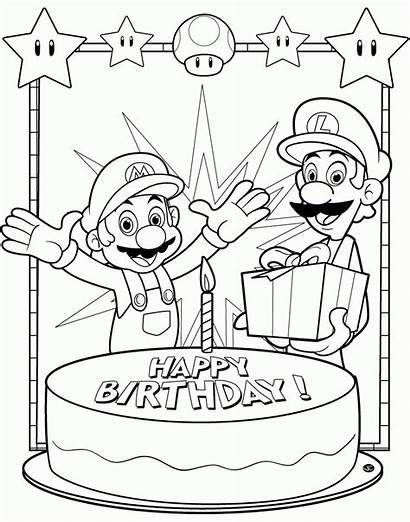 Coloring Mario Peach Luigi Daisy Toad Bowser