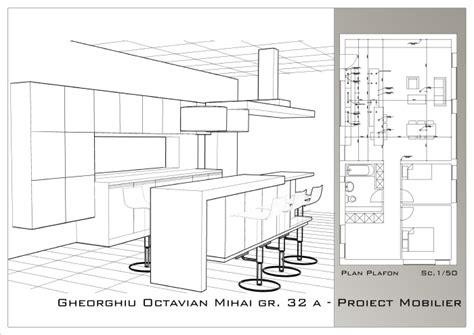 Kitchen Furniture Project  Design By Octavian Gheorghiu