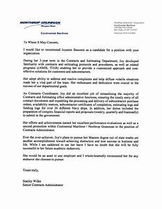 Law School Recommendation Letter Sample From Employer  Sample Recommendation Letters For Law