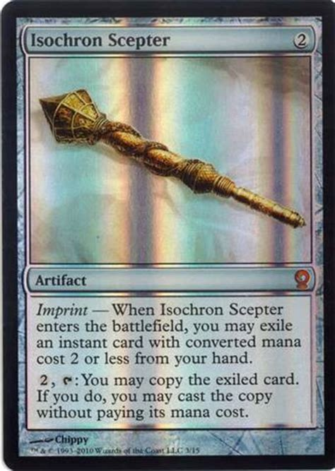 Isochron Scepter Deck Mtg by Isochron Scepter From The Vault Relics Foil Udsalg 1