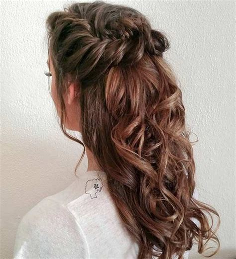 Bridesmaid Hairstyles For Hair Half Up by 31 Half Up Half Hairstyles For Bridesmaids Half
