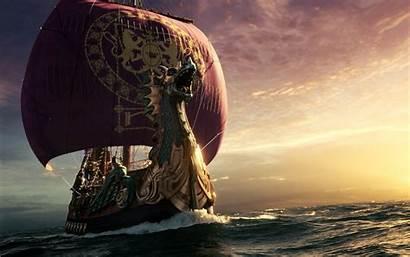 Narnia Ship Dawn Wallpapers Treader 1050 1680