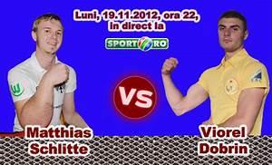 Matthias Schlitte Vs  Viorel Dobrin - 19 Nov 2012