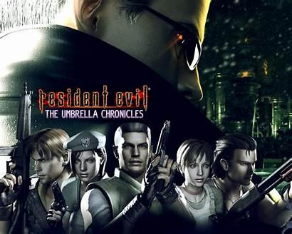 Resident Evil Chronicles Umbrella Darkside Ps3 Screensaver
