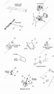 Polaris Snowmobile 2010 Oem Parts Diagram For Electrical