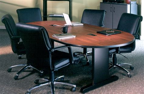 7ft conference room table and chairs set meeting