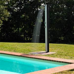 Douche Extérieure Pour Piscine : douche piscine aquabella white la boutique desjoyaux ~ Edinachiropracticcenter.com Idées de Décoration