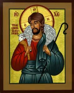 Jesus Christ Good Shepherd Icon