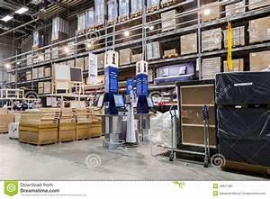 Interior Of The IKEA Samara Store. IKEA Is The World's ...