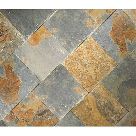 Rona Bathroom Tiles quot rustic quot slate floor tiles rona for front and back