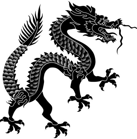Cool Picture Of Dragons File Dragon Chinois A Ecailles Svg Wikimedia Commons