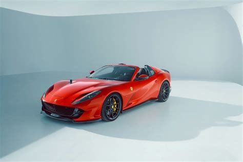 First you will need a ferrari. ¿Tiene un Ferrari 812 GTS? Vea lo que Novitec puede hacer ...