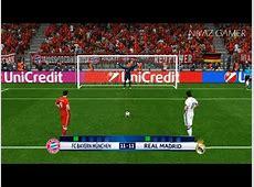 AS ROMA vs REAL MADRID Penalty Shootout PES 2017