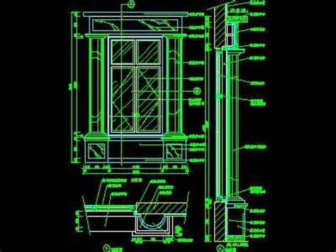 window cad detail  cad autocad blocks