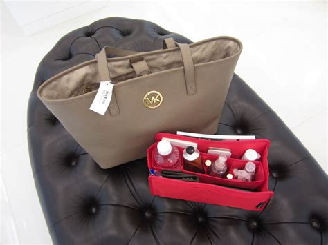 Purse Organizer Insert For Michael Kors Jet Set Travel