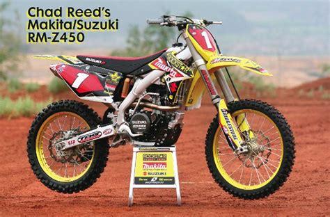 Motocross Action Magazine We Ride Chad Reed's Makita