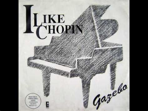gazebo like chopin gazebo i like chopin instrumental version 1983