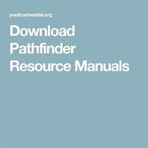 Download Pathfinder Resource Manuals