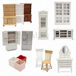 1 12 scale fairy doll house mini wooden furniture living With scale of furniture for living room