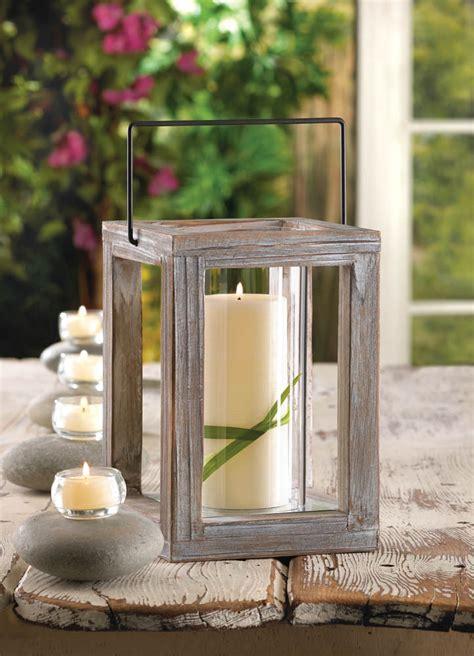 Koehler Home Decor Lanterns by Weathered Wooden Garden Lantern Wholesale At Koehler Home