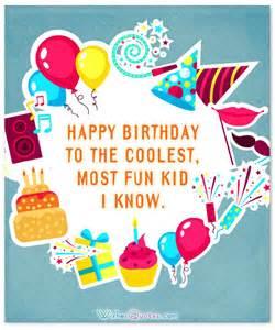 Happy Birthday Wishes Kids