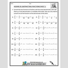 Math Worksheets  Engaged Immigrant Youth
