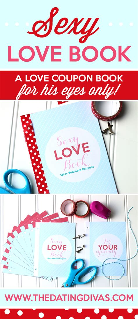 Valentine's Day Sexy Love Book Of Coupons  From The