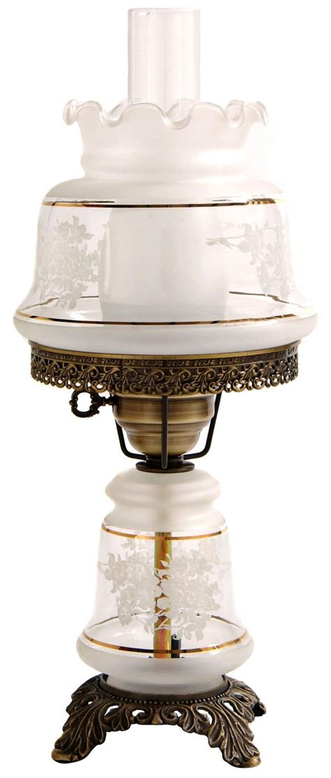 small night light table ls small etched white and gold night light hurricane table l