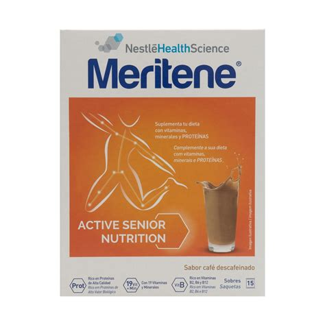 Free shipping on many items   browse your favorite brands   affordable prices. Meritene™ decaffeinated coffee shakes 15 sachets   PromoFarma