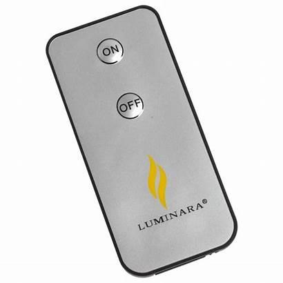 Luminara Remote Candle Led Pillar Flame Effect