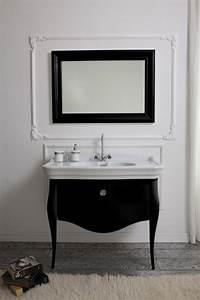 Meuble Sous Vasque Blanc : meuble sous lavabo de style classique en 25 belles photos ~ Teatrodelosmanantiales.com Idées de Décoration