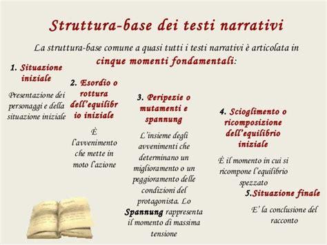 schema testo narrativo lo schema narrativo e il narratore avere seconda