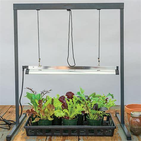 seed starter grow lights seed starting grow light gardens alive