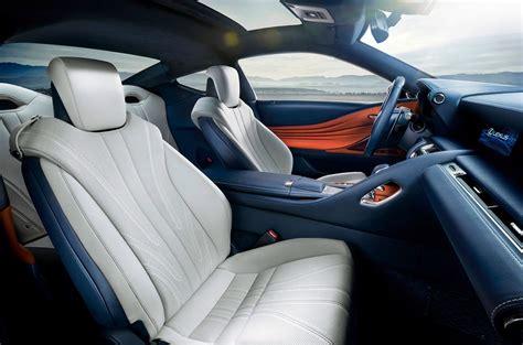 lexus lc interior lexus lc 500h 2017 el lujoso coupé estrena sistema híbrido