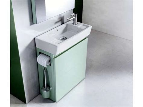 waschbeckenunterschrank kleines waschbecken kleines waschbecken mit unterschrank f 252 r g 228 ste wc