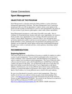 resume exles objective sales resume resume for sports management degrees sales management lewesmr