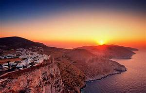 Wallpaper Folegandros, Sunset, Nature, #5353