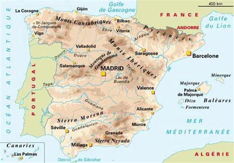 Comment On Dit Carte Du Monde En Espagnol by Nevada Carte Espagne Voyages Cartes