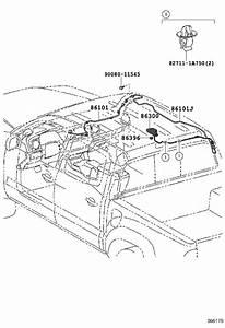 Toyota Tacoma Antenna Cable  Cord  Antenna