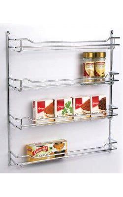 spice rack  tier chrome spice rack kitchen organisation kitchen storage