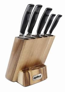 Review, Zyliss, Control, Kitchen, Knife, Set, With, Block, U2013, Professional, Cutlery, Knives