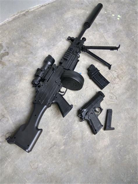 jual mainan pistol scar di lapak jaya net sport neeet