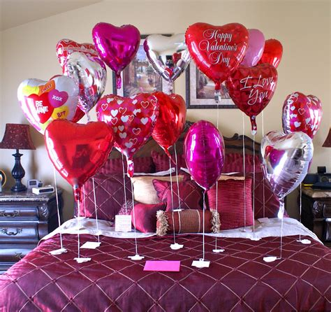 Decorating Ideas Valentines Day s day bed room decoration ideas 2016