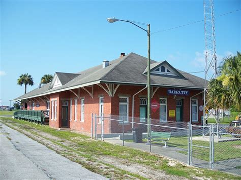 Depot Airline Highway by Dade City Atlantic Coast Line Railroad Depot