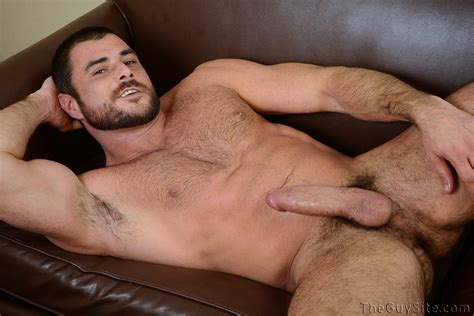 Mike Dozer First Time With Dildo At The Guy Site Hairy