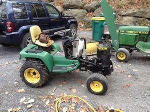 jacobsen homelite garden tractor 1000 or 1250 no engine but two parts decks
