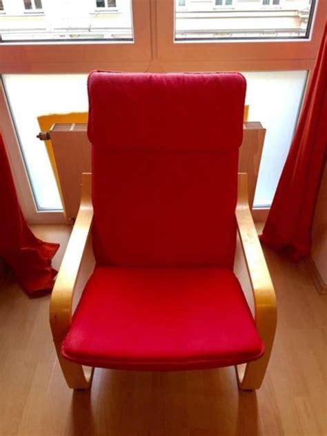 Ikea Schwingsessel Poäng by Ikea Sessel Rot Kaufen Gebraucht Und G 252 Nstig