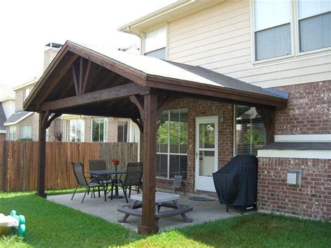 gable patio cover building plans